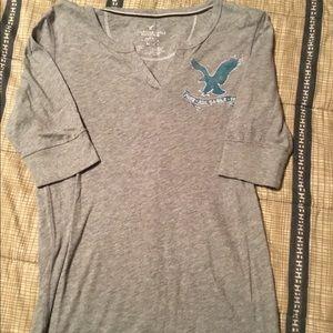 American Eagle 3/4 sleeve